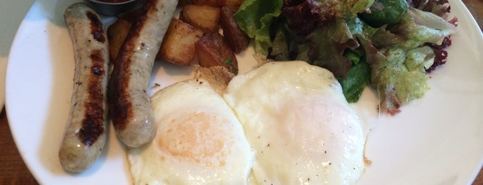 Mission Beach Cafe is one of SF Brunch.