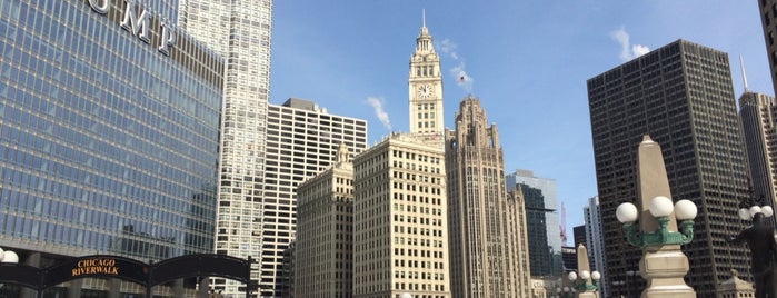 Chicago Riverwalk is one of Chicago trip 2018.