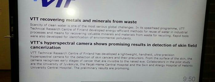 VTT is one of ESPOO - FINLAND.