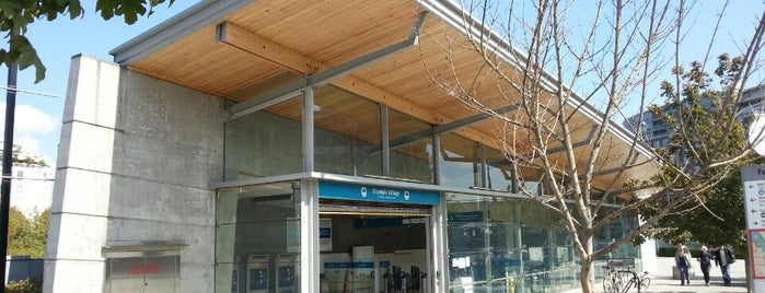 Olympic Village SkyTrain Station is one of Trips.