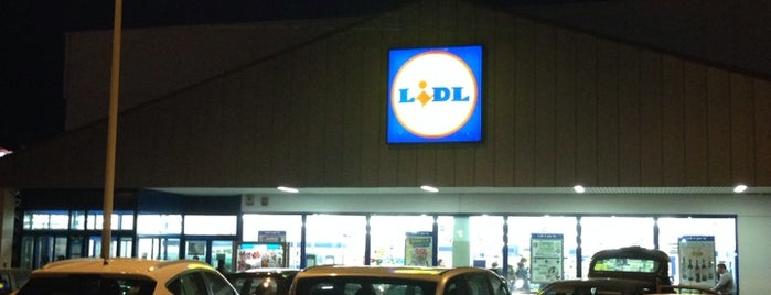 LIDL is one of Orte, die Fabio gefallen.