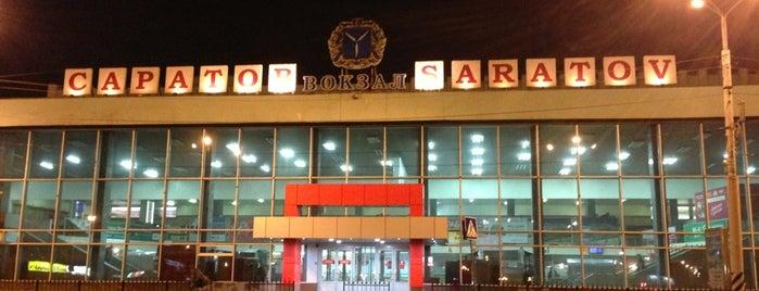 Ж/Д вокзал Саратов-1 is one of Саратов.
