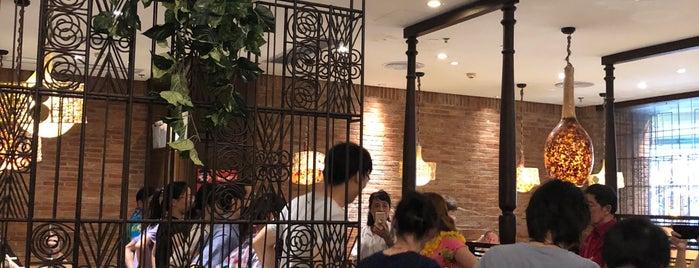 Guangzhou Banana Leaf is one of Locais curtidos por Esteban.