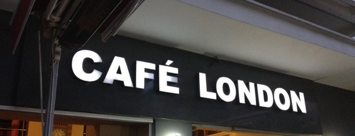 Cafe London is one of Istanbul.