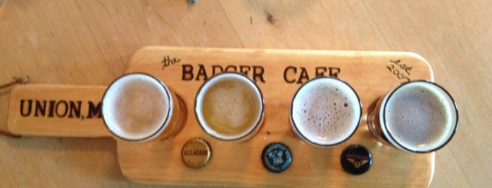 The Badger Cafe and Pub is one of Best breweries, brew pubs, and beer bars.