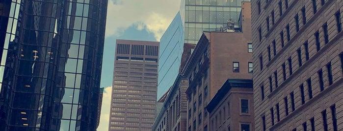 Downtown Boston is one of Orte, die jordi gefallen.
