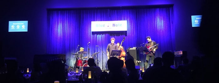 Blue Note Beijing is one of Tempat yang Disukai Terence.
