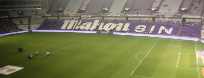 Estadio José Zorrilla is one of Spain BBVA La Liga 2013 - 2014.