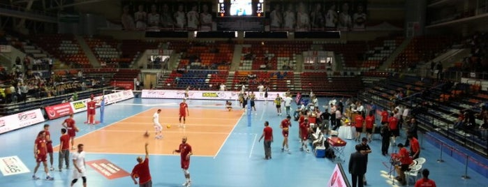 Ankara Baskent Spor Salonu is one of NTV Spor badge.