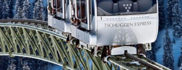 Tschuggen Grand Hotel is one of Modern Lux Hotels.