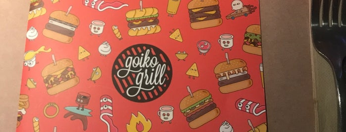 Goiko Grill is one of Bcn burgers.
