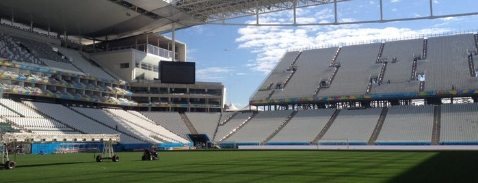 Arena Corinthians is one of São Paulo, Brazil.