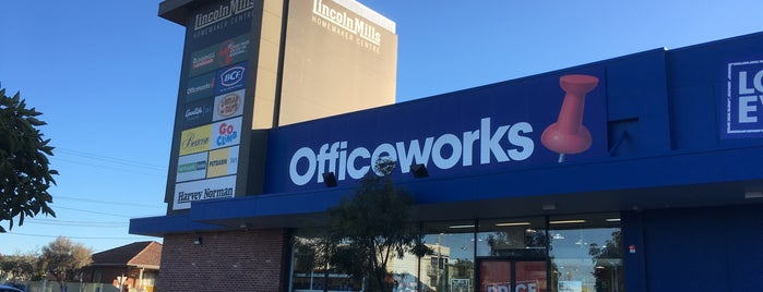 Officeworks is one of Alex : понравившиеся места.