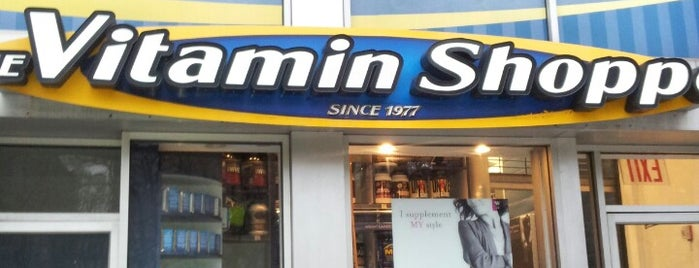 The Vitamin Shoppe is one of nyc.