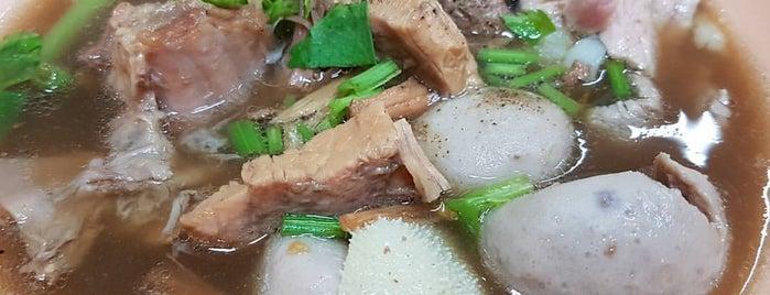 เนื้อตุ๋นท่าน้ำสาธุประดิษฐ์ is one of BKK_Noodle House_1.