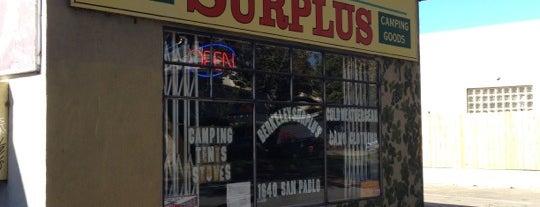 Berkeley Surplus is one of vintage SFO / OAK.