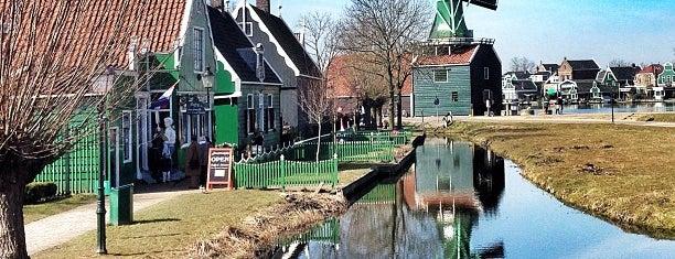 Zaanse Schans is one of The Netherlands.