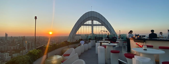 CRU Champagne Bar is one of Bangkok - Rooftop Bars.