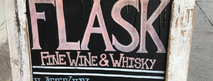 Flask Fine Wine & Whisky is one of LA.