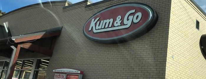 Kum & Go is one of Angie'nin Beğendiği Mekanlar.