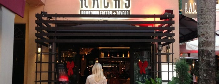 Racks Downtown Eatery & Tavern is one of My Boca Spots.