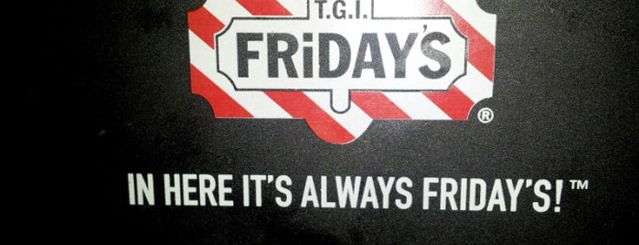 TGI Fridays is one of Pavlos list.