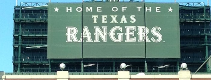 Globe Life Park in Arlington is one of All Things Sporting Venues....