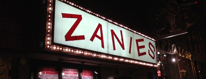 Zanies Comedy Club is one of Comedy & Theater in Chicagoland.
