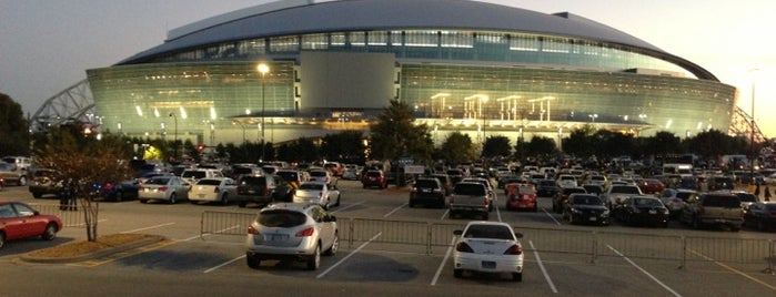 AT&T Stadium is one of Stadium.