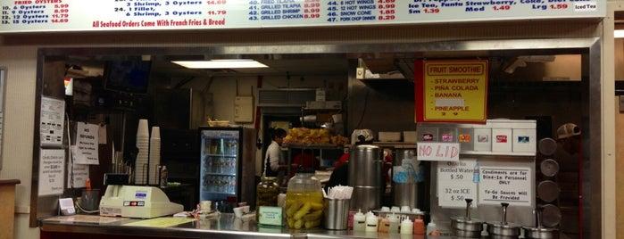 Dan's Seafood & Chicken is one of Lieux sauvegardés par Kate.