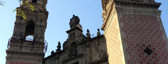 Iglesia de San Hipólito (San Judas Tadeo) is one of Mexico City.