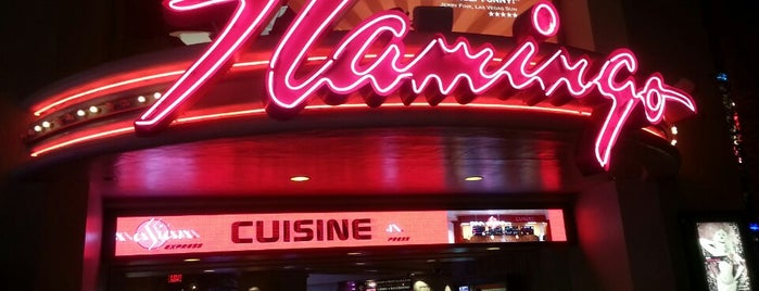 Flamingo Las Vegas Hotel & Casino is one of Cristina 님이 좋아한 장소.