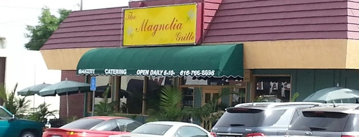 Magnolia Grille is one of Posti salvati di Christopher.
