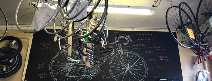 London Bike Kitchen is one of blighty sights.
