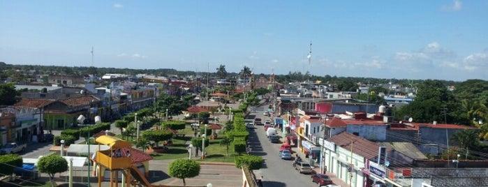 Parque Central Cunduacan is one of Fin de Semana.