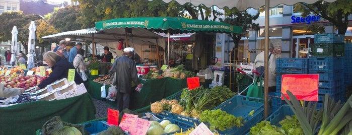 Wochenmarkt Altstadt Spandau is one of Berlin Spandau.