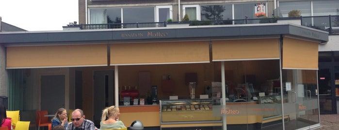 IJssalon Matteo is one of Tilburg.