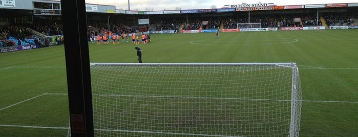 Glanford Park is one of Part 1~International Sporting Venues....