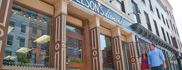 Samuelson's Diamonds & Estate Buyers is one of City Paper's :Goods & Services: Readers Poll '12.