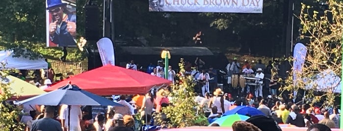 Chuck Brown Memorial is one of 111 Places in Washington You Must Not Miss.