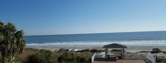 The Atlantic Ocean is one of E : понравившиеся места.
