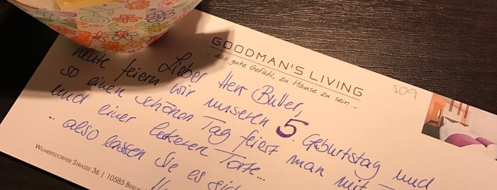 Goodmans Living is one of Recommended Hotels & Hostels in Berlin.