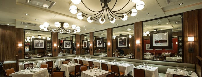 db Bistro Moderne is one of The New Yorker.