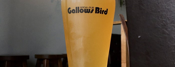 Gallows Bird brew-pub is one of Oliver : понравившиеся места.