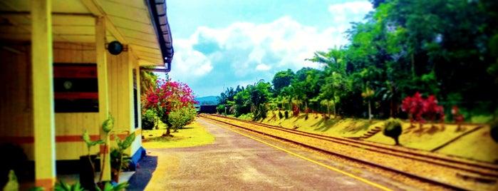 Stesen Keretapi Rengam is one of Go Outdoor, MY #6.
