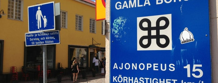 Vanha Porvoo / Gamla Borgå is one of Достопримечательности Финляндии.