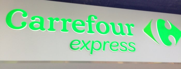 Carrefour Express is one of Alejandro : понравившиеся места.