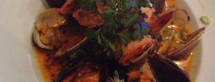Thalassa is one of The Best Greek Food NYC: Kalí̱ órexi̱.