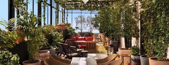 Gramercy Park Hotel is one of Rooftop bars.