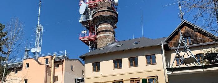 Rozhledna Krkavec is one of MTB v Česku.